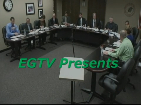 Park Board Meeting - January 22nd, 2015