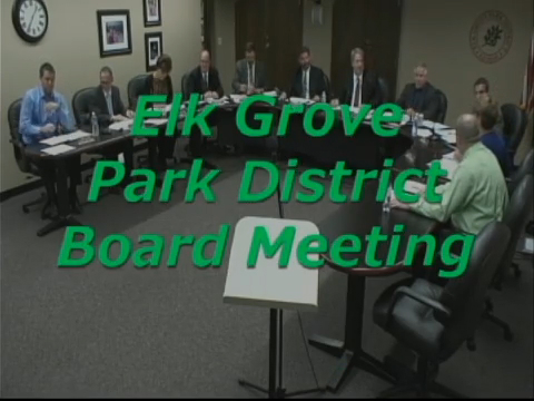 Park Board Meeting - February 26th, 2015