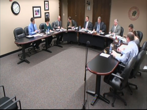 Park Board Meeting - March 12th, 2015