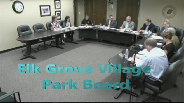 Park Board Meeting - March 31, 2016