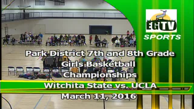 Park District 6th, 7th and 8th Grade Girls Basketball Championship 2016