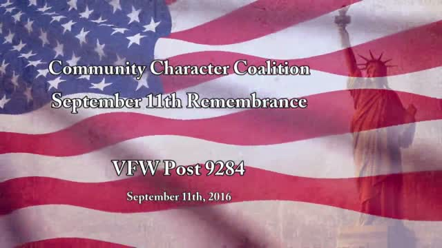 Community Character Coalition 9/11 Remembrance